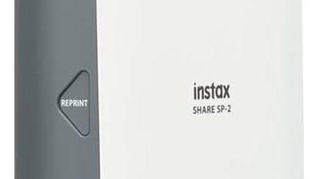 Fototiskárna Fuji Instax Share SP-2 stříbrná + Doprava zdarma