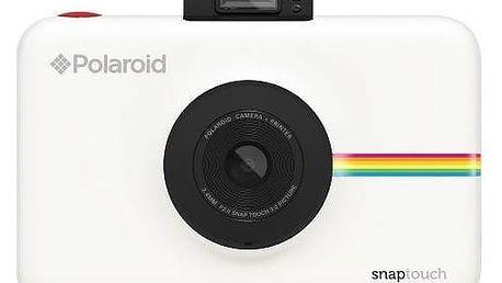 Digitální fotoaparát Polaroid SNAP TOUCH Instant Digital (POLSTW) bílý + Doprava zdarma
