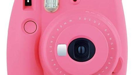 Digitální fotoaparát Fuji Instax mini 9 růžový + Doprava zdarma
