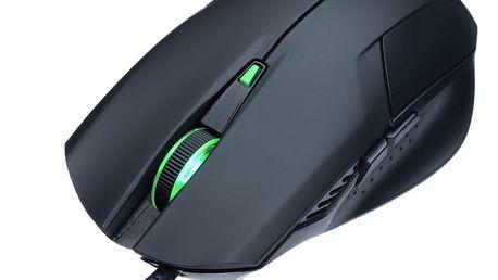 CONNECT IT Battle myš, černá - CI-78 + Podložka pod myš CONNECT IT Battle v ceně 200 Kč