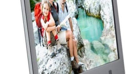 Elektronický fotorámeček Hyundai LF 920 SMULTI stříbrný