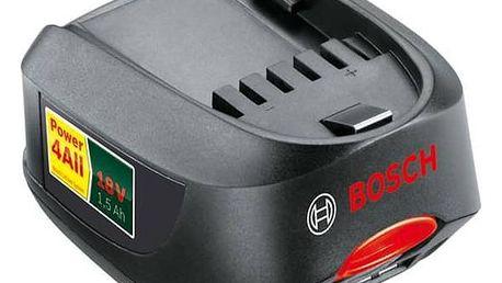 Akumulátor Bosch 18V LI 1.5Ah černé + Doprava zdarma