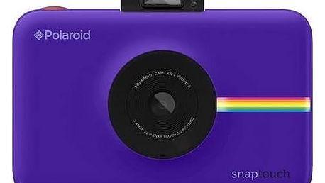 Digitální fotoaparát Polaroid SNAP TOUCH Instant Digital (POLSTPR) fialový + Doprava zdarma