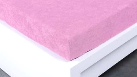 XPOSE ® Froté prostěradlo Exclusive - levandulová 120x200 cm