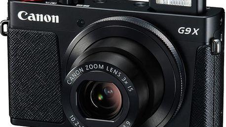 Canon PowerShot G9X, černá - 0511C002