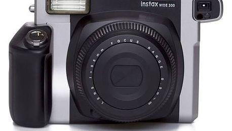 Digitální fotoaparát Fuji Instax wide 300 černý/stříbrný + Doprava zdarma