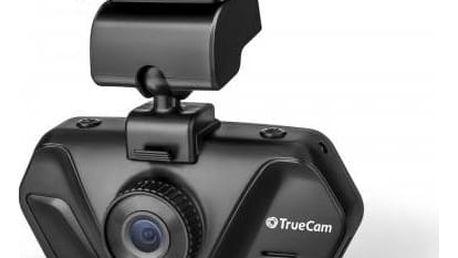 Autokamera TrueCam A4 černá Reflexní vesta TrueCam, žlutá (zdarma)