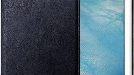CELLY Air ultra tenké pouzdro typu kniha pro Apple iPhone 7, PU kůže, černé - AIR800BK