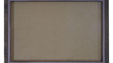 Hnědý dřevěný rám na fotografie Mendler Shabby, 46x66cm - doprava zdarma!