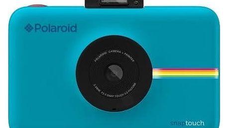 Digitální fotoaparát Polaroid SNAP TOUCH Instant Digital (POLSTBL) modrý + Doprava zdarma