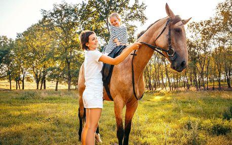Den s koňmi u Prahy pro děti od 6 do 12 let