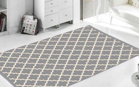 Šedý koberec Home De Bleu Madalyon, 80x150cm - doprava zdarma!