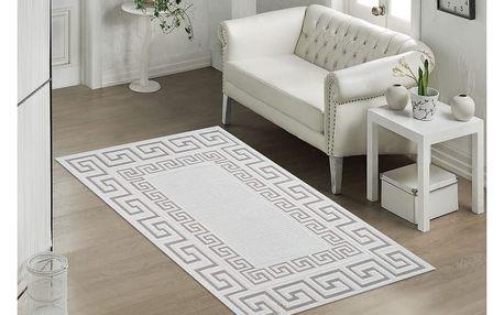 Béžový odolný koberec Vitaus Versace, 80x200cm - doprava zdarma!