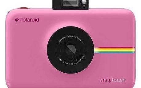 Digitální fotoaparát Polaroid SNAP TOUCH Instant Digital (POLSTBP) růžový + Doprava zdarma