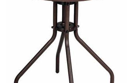 Zahradní stůl se skleněnou deskou Bistro
