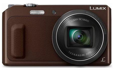 Digitální fotoaparát Panasonic DMC-TZ57EP-T
