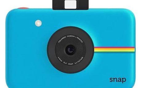 Digitální fotoaparát Polaroid SNAP Instant Digital (POLSP01BL) modrý + Doprava zdarma