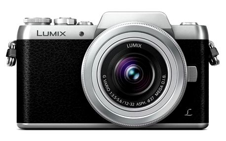 Digitální fotoaparát Panasonic DMC-GF7 stříbrný + objektiv 12-32mm