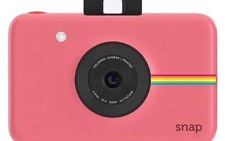 Digitální fotoaparát Polaroid SNAP Instant Digital (POLSP01BP) růžový + Doprava zdarma