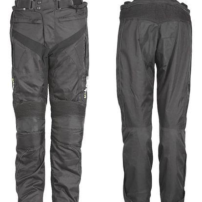 Motocyklové kalhoty W-TEC Anubis Barva černá, Velikost 3XL