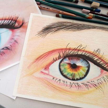 Kurz kreslení pastelkami