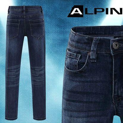 Dětské džínové kalhoty značky Alpine Pro