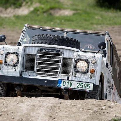 Offroad jízda v Land Roveru