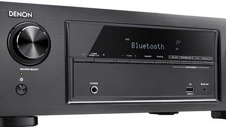 Denon AVR-X540BT, černá
