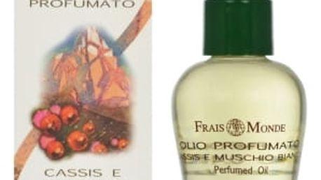 Frais Monde Cassis And White Musk 12 ml parfémovaný olej pro ženy