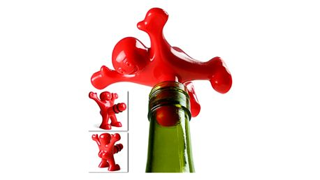 Vtipná zátka na lahev od vína