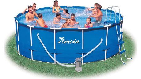 Marimex Bazén Florida 4,57x1,22 m s kartušovou filtrací - 10340038