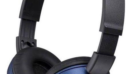 Sluchátka Sony MDRZX310L.AE (MDRZX310L.AE) modrá + Doprava zdarma
