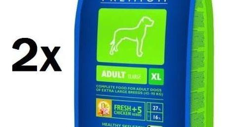 Granule Brit Premium Dog Adult XL 2 x 15 kg + Doprava zdarma