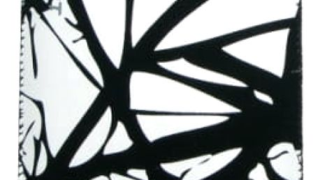 Pouzdro na mobil FIXED White Cracks, 3XL (RPVEL-013-3XL) černé/bílé