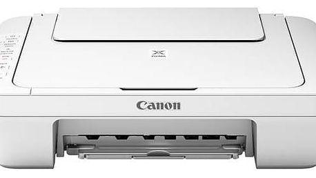 Tiskárna multifunkční Canon PIXMA MG3051 (1346C026) bílá Software F-Secure SAFE 6 měsíců pro 3 zařízení (zdarma)