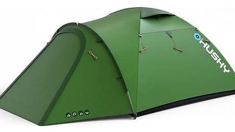 Stan Husky Extreme Lite Baron 3 zelený + Přístřešek BLUM 2 Plus - zelená v hodnotě 790 Kč + Doprava zdarma