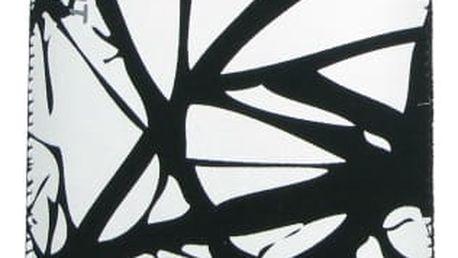 """Pouzdro na mobil FIXED White Cracks, 3XL (vhodné pro 5"""") (RPVEL-013-3XL) černé/bílé"""
