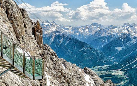 Kouzelná dovolená s výhledem na Alpy, snídaní a wellness
