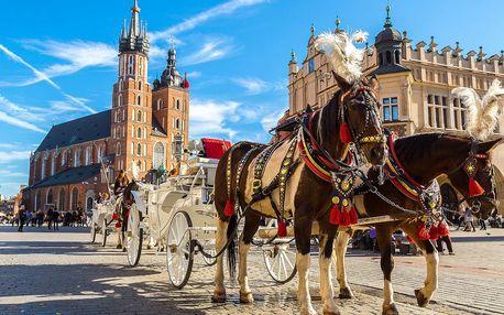 Dovolená v Krakově se snídaní a parkováním