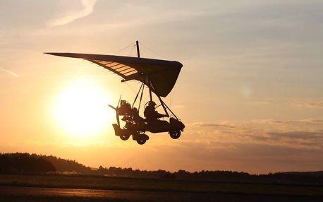 Pilotem motorového rogala na zkoušku
