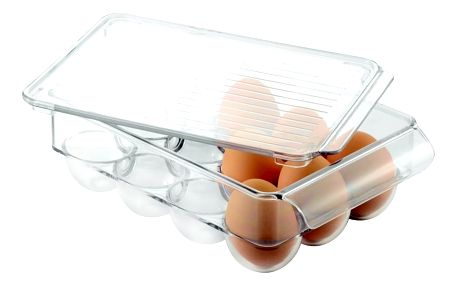 Úložný systém na vajíčka InterDesign Fridge Egg Small