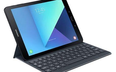 """Pouzdro na tablet s klávesnicí Samsung pro Galaxy Tab S3 (9,7"""") (EJ-FT820BSEGGB) šedé"""