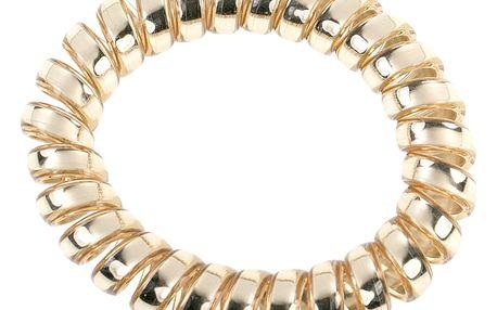 Fashion Icon Vlasová gumička- plastová pružina lesklá 1 ks