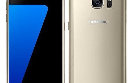Mobilní telefon Samsung S7 32 GB (G930F) (SM-G930FZDAETL) zlatý Software F-Secure SAFE 6 měsíců pro 3 zařízení v hodnotě 999 Kč + DOPRAVA ZDARMA