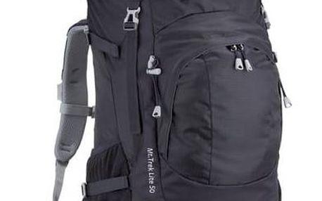 Batoh turistický Coleman Mt. Track 50l - černá + Taška přes rameno Coleman ZOOM - (1L, černá), 12 x 15 x 8,5 cm, 160 g, vhodná na doklady, mobil, klíče v hodnotě 259 Kč + Doprava zdarma
