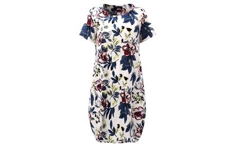 Letní šaty s květinovým vzorem - varianta 8