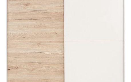 Skříň s posuvnými dveřmi heimo, 125/195/38 cm