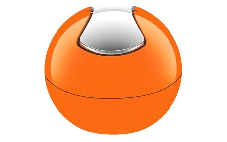 Oranžový odpadkový koš Spirella Bowl
