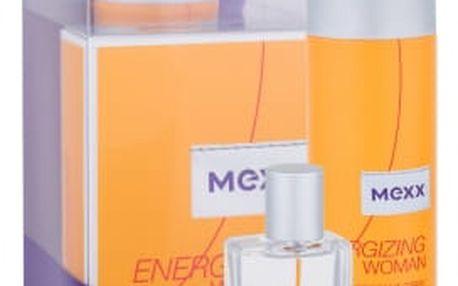 Mexx Energizing Woman dárková kazeta pro ženy toaletní voda 30 ml + deodorant 150 ml