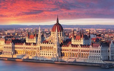 Podzimní výlet do Budapešti s odjezdy z Moravy